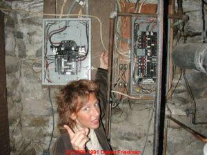 проблема с электричеством