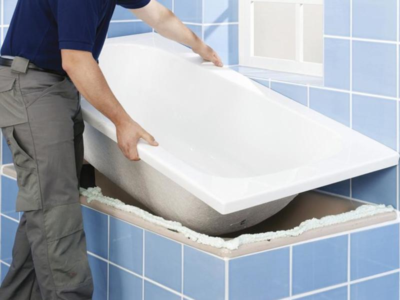 Установка / замена ванной