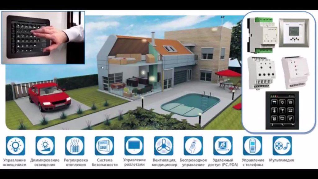 установка умный дом